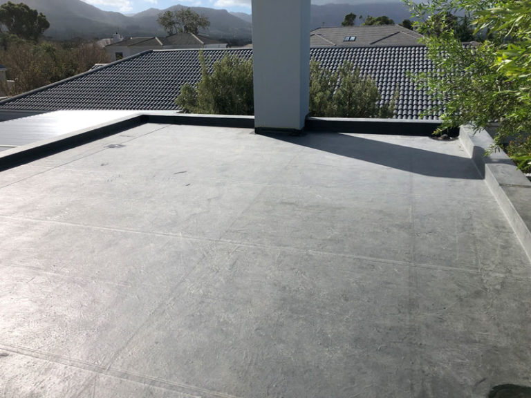 commercial flat roof wateproofing