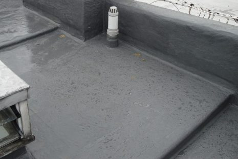 flat roof sealed with EPDM rubber by waterprof lab in cape town western cape